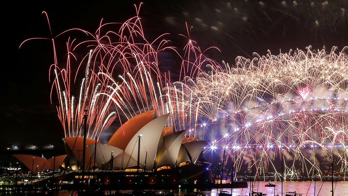 New year's eve fireworks Sydney