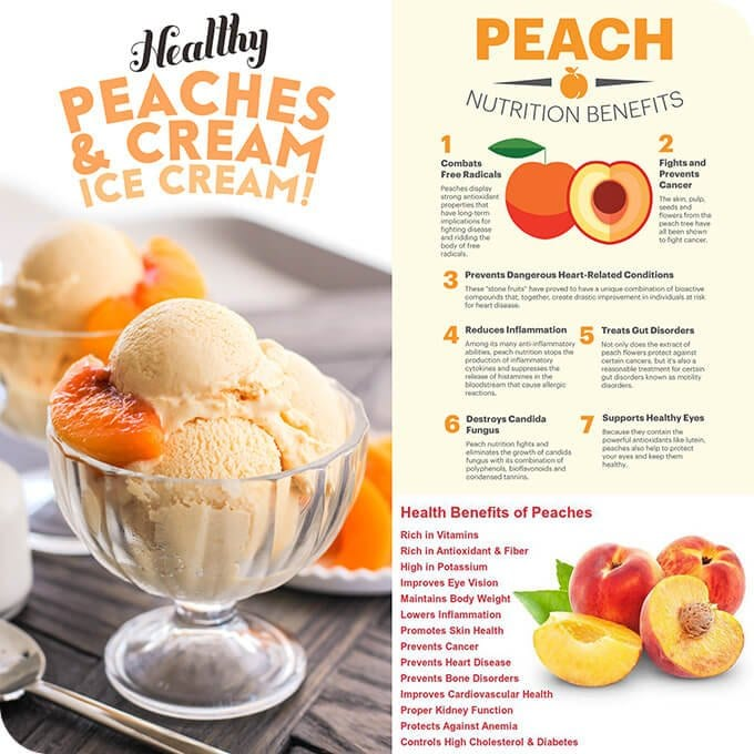 peach on the menu