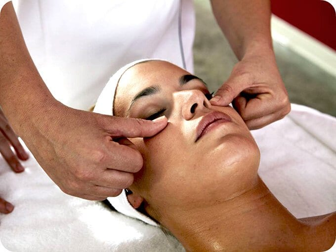 lymphatic drainage to face